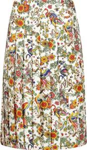 Spódnica Tory Burch z jedwabiu