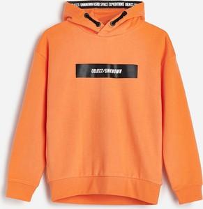 Pomarańczowa bluza dziecięca Reserved