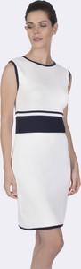 Sukienka Felix Hardy mini w stylu casual z okrągłym dekoltem