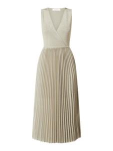 Sukienka Joseph Janard z dekoltem w kształcie litery v maxi z dzianiny