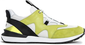 Buty sportowe Mr&mrs Italy ze skóry w młodzieżowym stylu