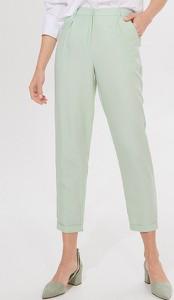 Zielone spodnie Mohito w stylu klasycznym