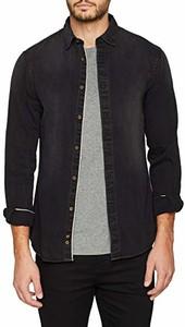 Granatowa koszula CELIO w stylu casual
