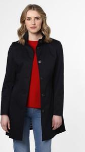 Granatowy płaszcz Franco Callegari w stylu casual