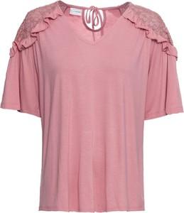 T-shirt bonprix BODYFLIRT z krótkim rękawem