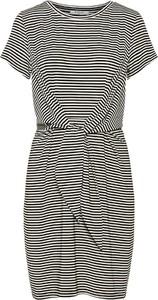 Sukienka Pieces prosta z krótkim rękawem mini