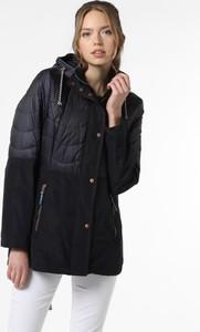 Czarna kurtka Gil Bret długa w stylu casual