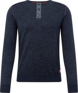 Granatowa koszulka z długim rękawem Tom Tailor z długim rękawem