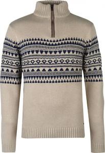 Brązowy sweter Pierre Cardin