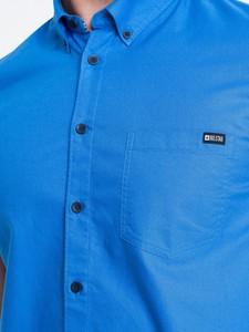 Koszula Big Star z klasycznym kołnierzykiem z tkaniny z krótkim rękawem
