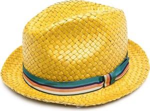 Żółta czapka Paul Smith