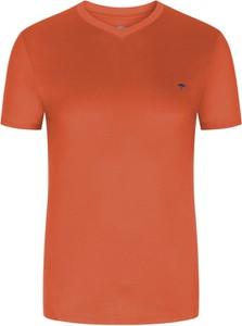 T-shirt Fynch Hatton z bawełny w stylu casual