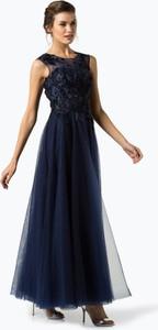 Sukienka Luxuar Fashion z tiulu maxi rozkloszowana