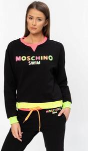 Bluza Moschino z bawełny w młodzieżowym stylu