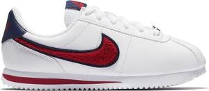 Buty sportowe Nike cortez sznurowane z płaską podeszwą