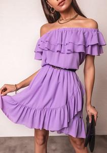 Sukienka Latika z krótkim rękawem hiszpanka