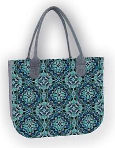 Niebieska torebka Bertoni