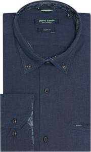 Niebieska koszula Pierre Cardin z długim rękawem