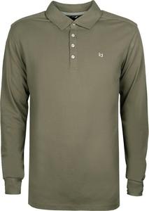 Zielona koszulka z długim rękawem tommy hilfiger