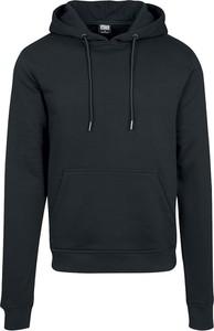 Czarna bluza Urban Classics w młodzieżowym stylu z bawełny