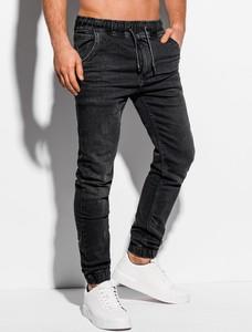 Czarne jeansy Edoti