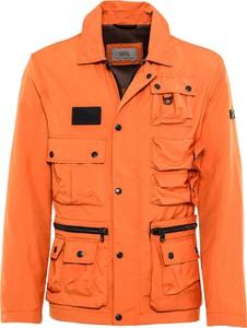 Pomarańczowa kurtka Camel Active krótka
