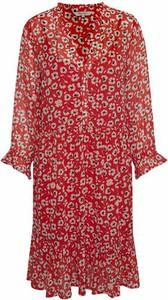 Sukienka Part Two z dekoltem w kształcie litery v