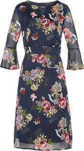 62d95d150f Sukienka bonprix bpc selection z długim rękawem midi