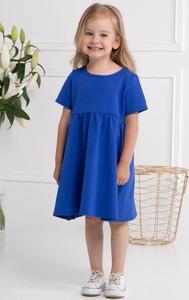 Niebieska sukienka dziewczęca KARKO