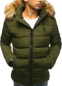 Zielona kurtka Dstreet w stylu casual
