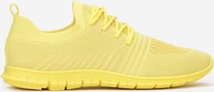 Żółte buty sportowe Multu z płaską podeszwą