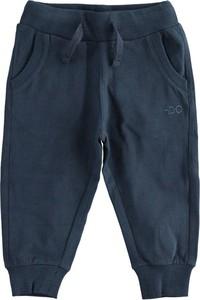 Granatowe spodnie dziecięce Ido