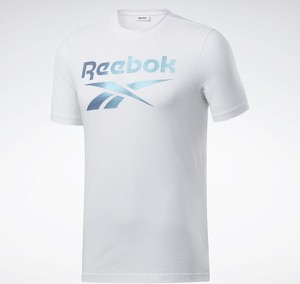 T-shirt Reebok Fitness z dzianiny