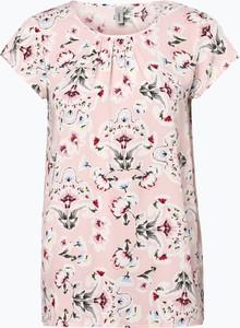 Różowa bluzka Soyaconcept z krótkim rękawem
