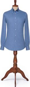 Koszula LANCERTO z klasycznym kołnierzykiem z tkaniny