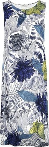 Sukienka Desigual midi z okrągłym dekoltem