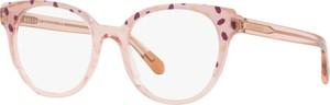 Różowe okulary damskie Bvlgari
