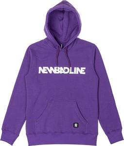 Bluza New Bad Line w młodzieżowym stylu z bawełny