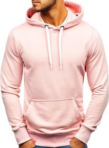 Różowa bluza Denley z bawełny