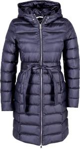 Niebieska kurtka Liu-Jo w stylu casual długa