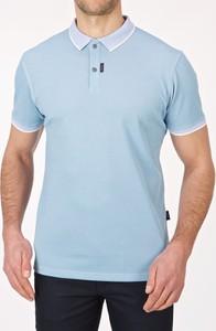 Koszulka polo Lanieri z krótkim rękawem w stylu casual