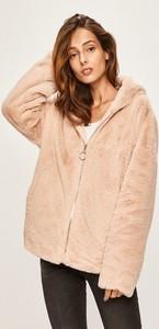 Różowa kurtka Answear krótka