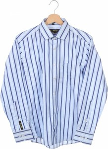 Niebieska koszula dziecięca Age w paseczki