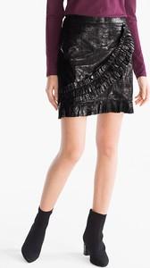 Brązowa spódnica YESSICA mini