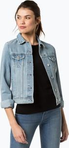 Niebieska kurtka Review z jeansu