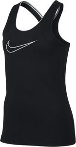 Czarna bluzka dziecięca Nike bez rękawów