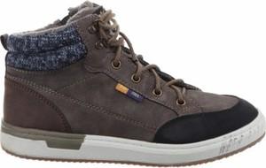 Brązowe buty dziecięce zimowe S.Oliver sznurowane
