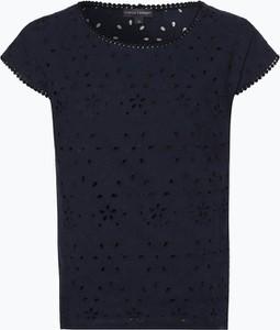T-shirt Franco Callegari z okrągłym dekoltem z dżerseju z krótkim rękawem