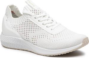 Buty sportowe Tamaris z płaską podeszwą