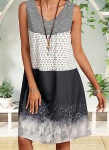 Sukienka Cikelly bez rękawów mini